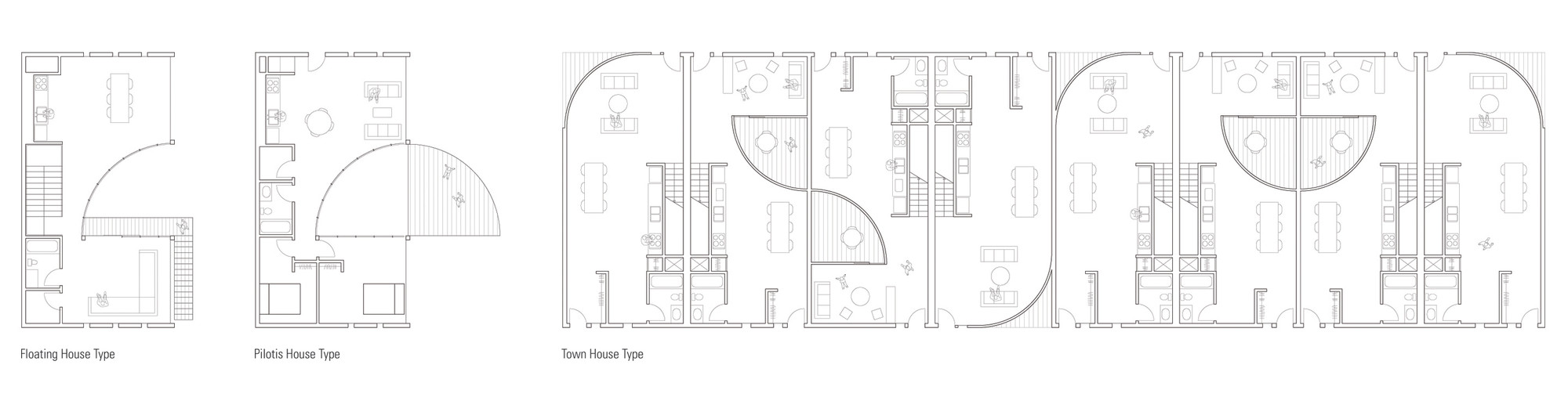 floor plans / Courtesy of The Open Workshop