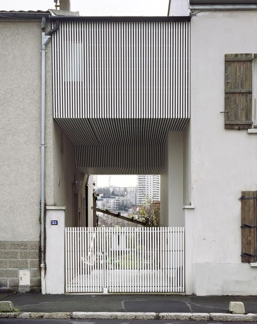 A Suspended Room / NeM Architectes, ©  Rémy Castan