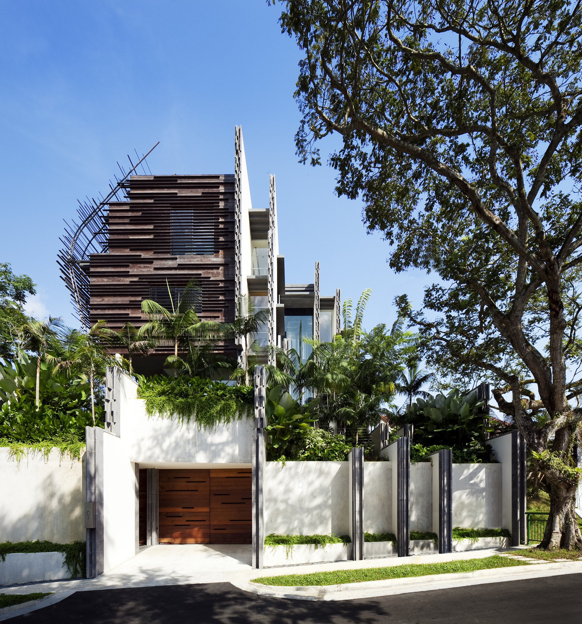 Nest House / WOHA, © Patrick Bingham-Hall