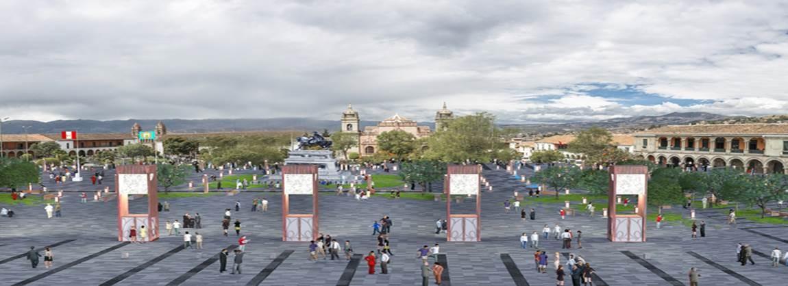 Concurso Plaza Mayor y eje turístico cultural Centro Histórico de Huamanga. (Huamanga,Perú – 2012) / Carlos Ramos Abensur – Alvaro Rodriguez Padilla