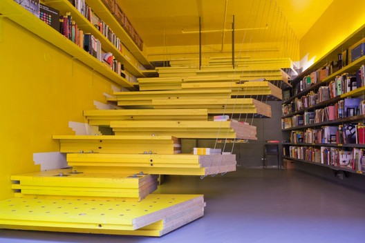 Van Alen Books, New York City's Architecture and Design Bookstore. Photo: Danny Bright