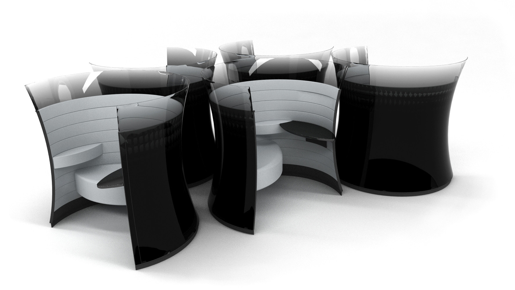 The Solus Chair, designed by Foster + Partners. Courtesy of Foster + Partners.