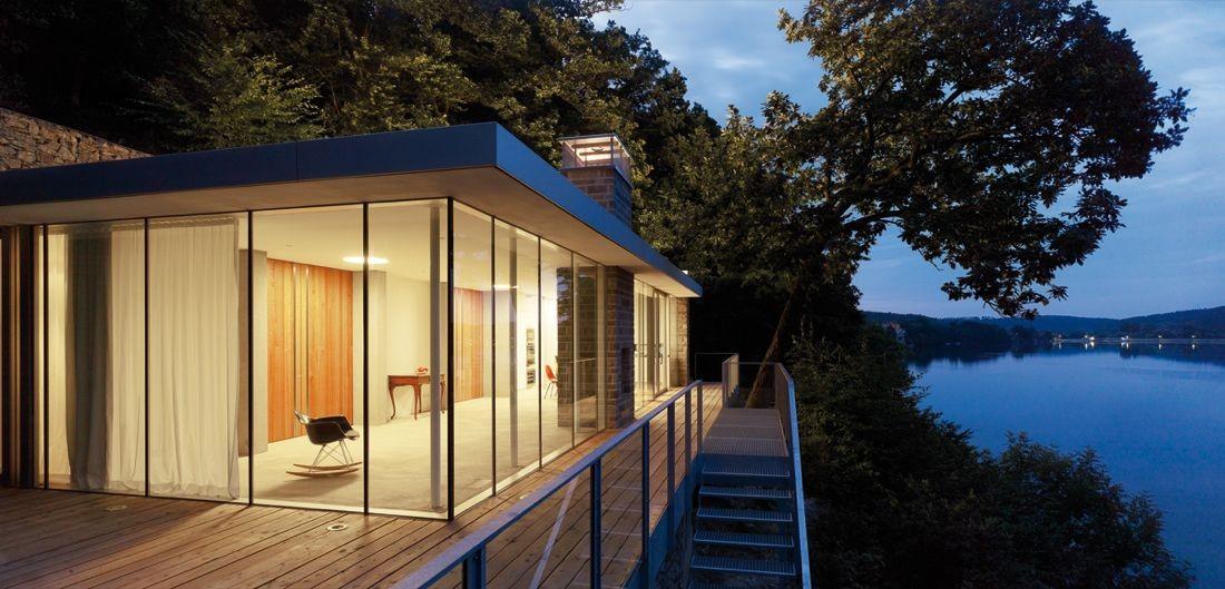 Gallery Of Lake House Lhvh Architekten 10