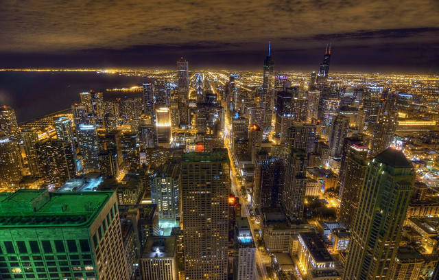 Architecture's Brave New Digital World, John Tolva is working to make Chicago a leader in digital urbanism. Image of Chicago © Brad Wilke via Flickr