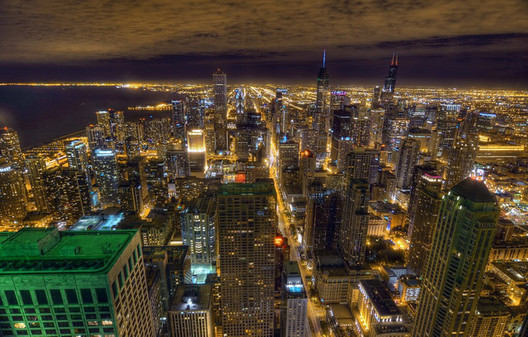 John Tolva is working to make Chicago a leader in digital urbanism. Image of Chicago © Brad Wilke via Flickr