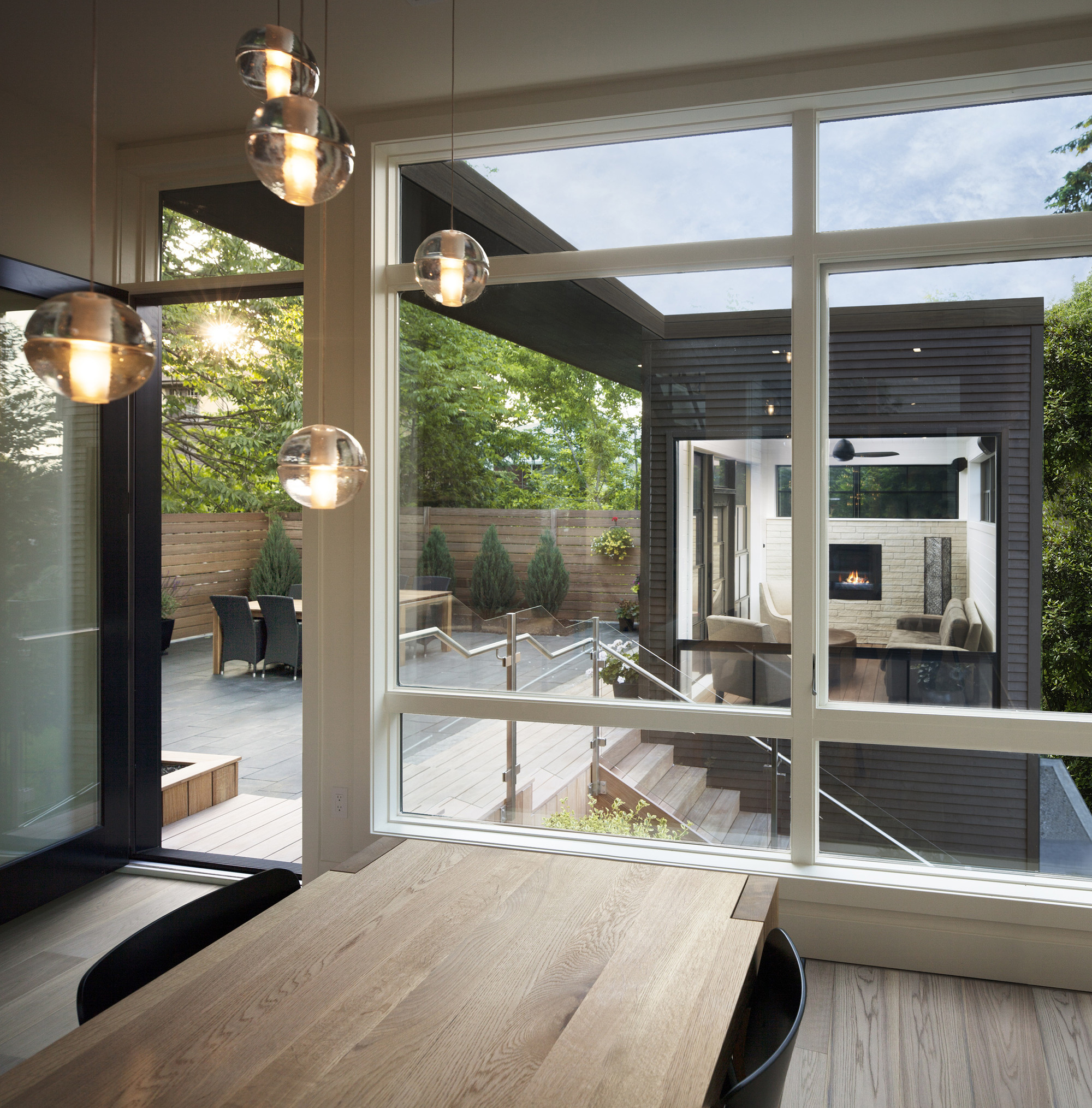 Gallery of westboro home kariouk associates 16 for Contemporary outdoor living spaces
