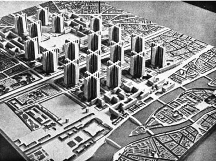 Clásicos de Arquitectura: Ville Radieuse / Le Corbusier, via land8.com