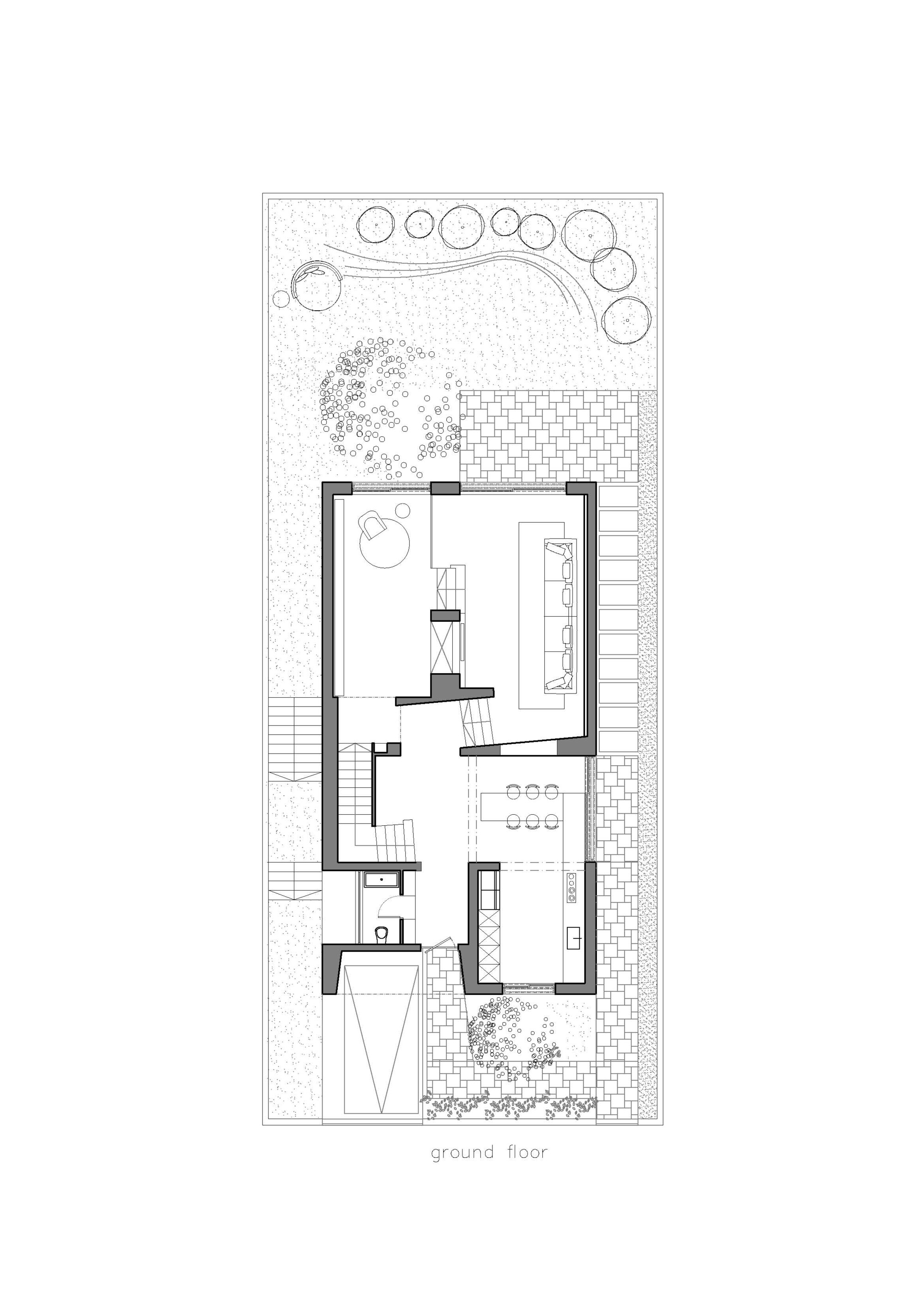 Gallery of an urban villa pitsou kedem architects 17 for Urban floor plans
