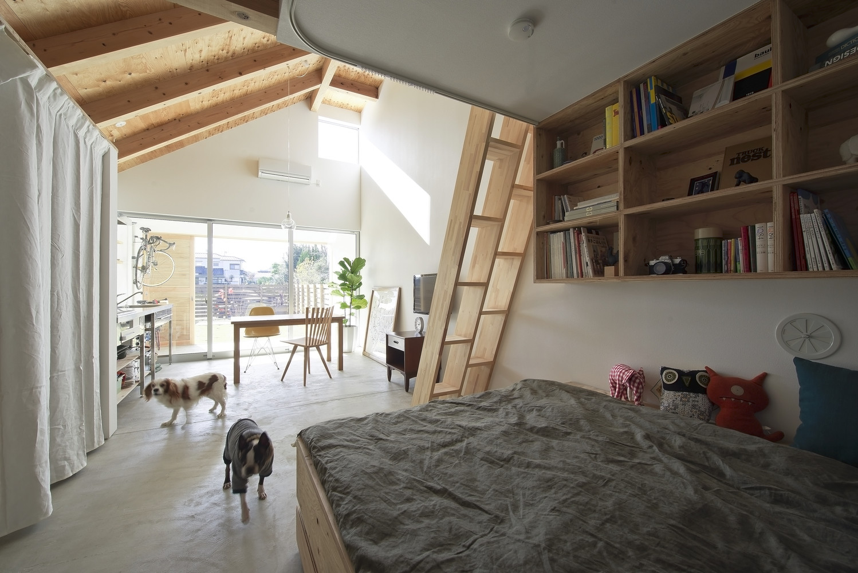 """dogsalon"" residence and a modest organization area"