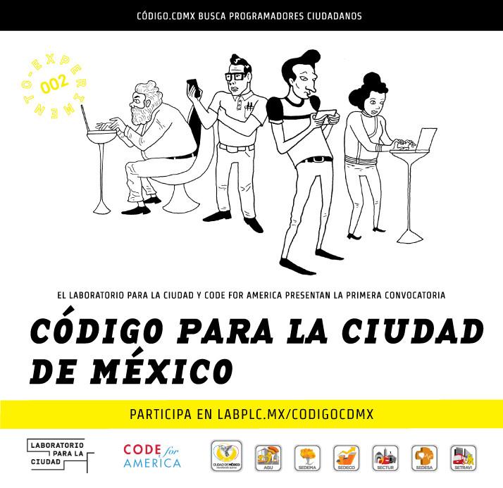 Convocatoria / Código para la ciudad de México, Courtesy of LabPLC