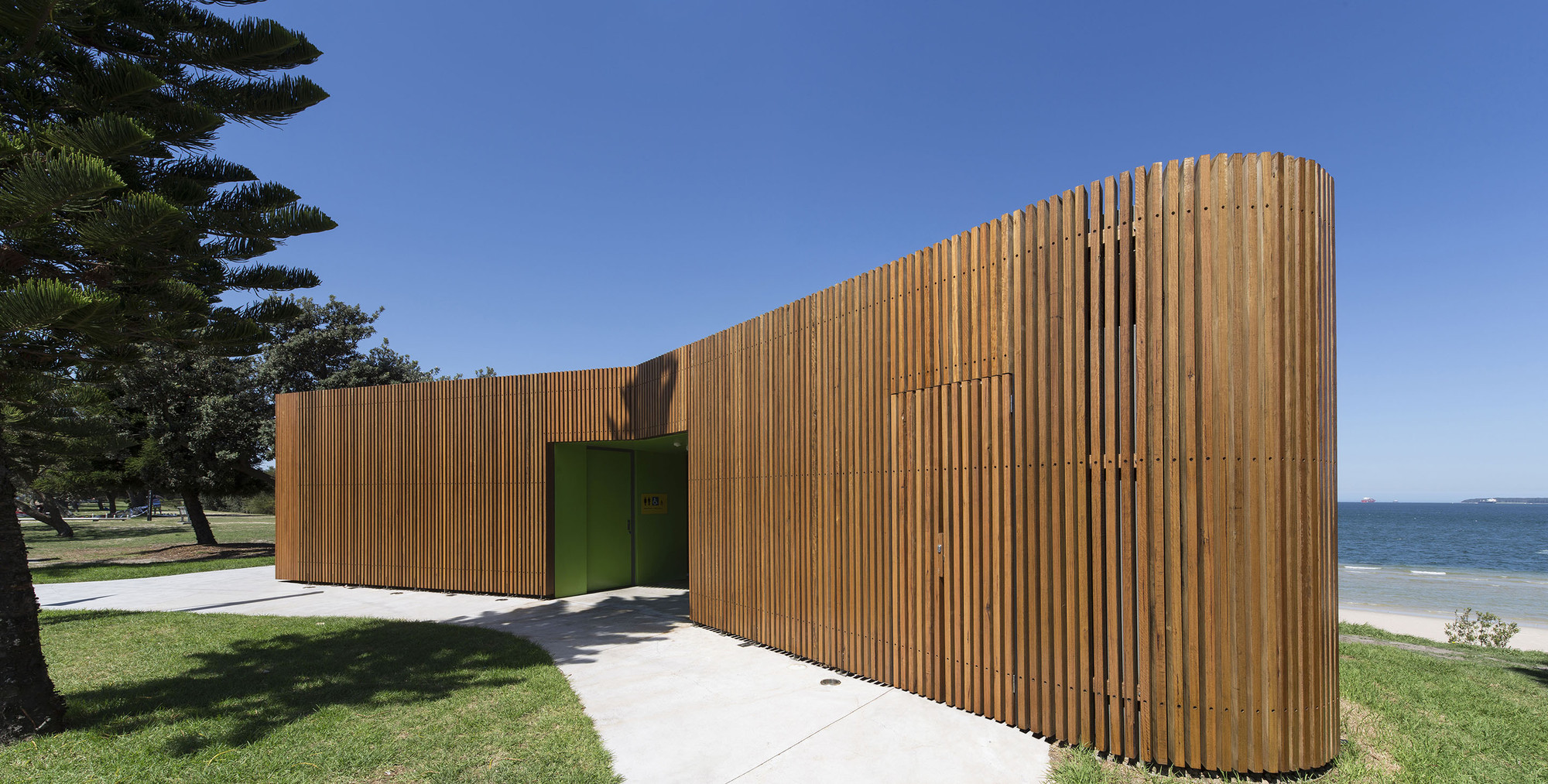 Cook Park Amenities Fox Johnston Archdaily