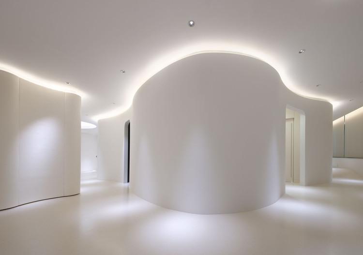 Clínica Dermatológica Hommachi / atelier KUU, © Seiryo Yamada