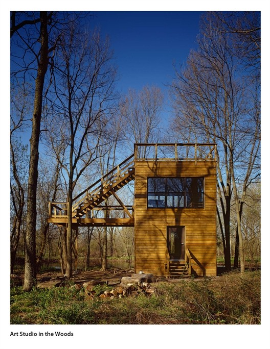 "David Genc's ""Art Studio in the Woods"""