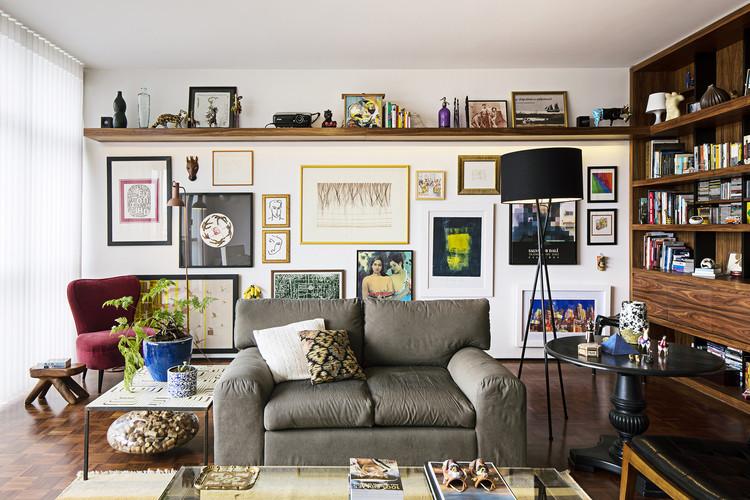 Apartamento dos Arquitetos / a:m studio de arquitetura, © Carolina Vargas
