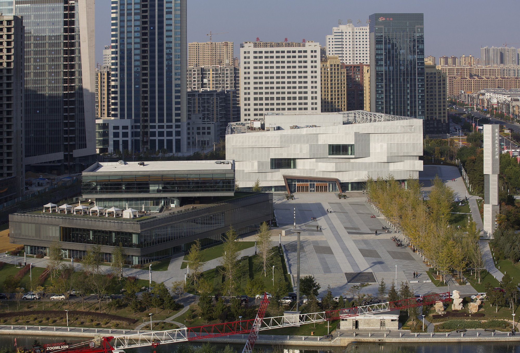 bayuquan library dsd archdaily courtesy of dsd