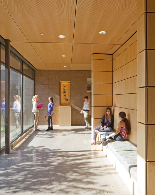 Cranbrook Kingswood Girls' Middle School; Bloomfield Hills, Michigan / Lake|Flato Architects © Frank Ooms