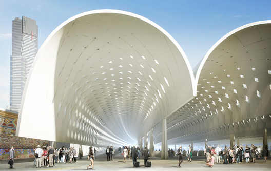 Courtesy of HASSELL + Herzog & de Meuron