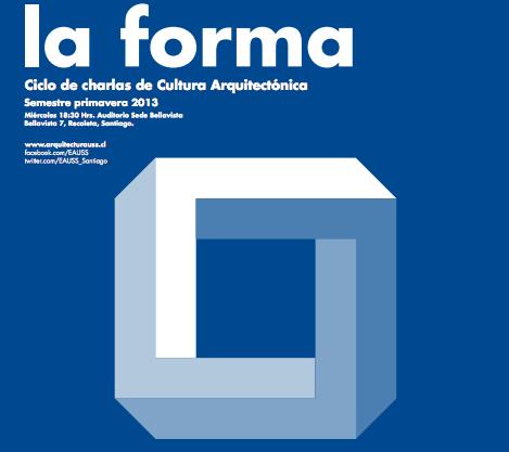 """Ciclo de Charlas Cultura Arquitectónica """"La Forma"""": gt2P"""