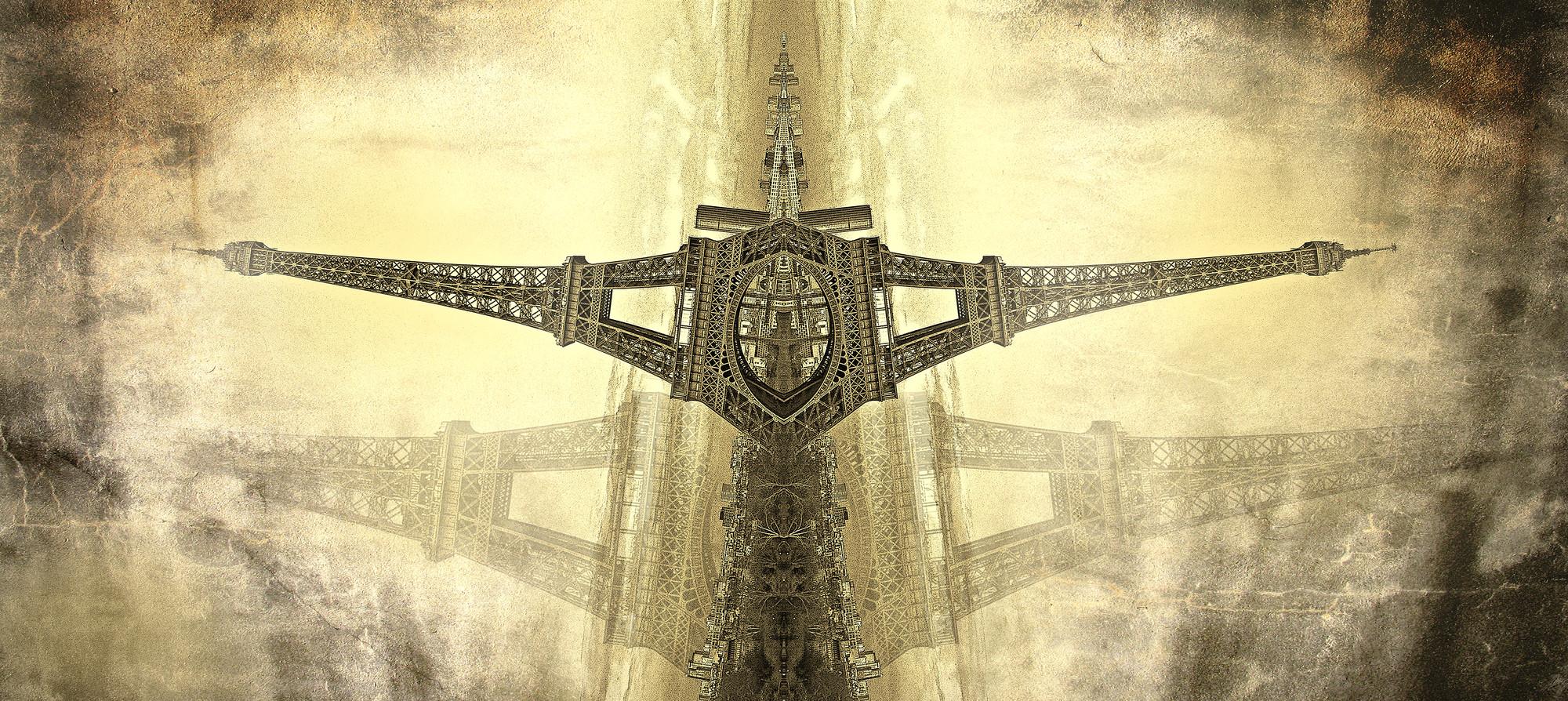 """Arte y Arquitectura: """"El Otro Lugar"""" / Robert Montilla, Torre Eiffel © Robert Montilla . Image © Robert Montilla"""