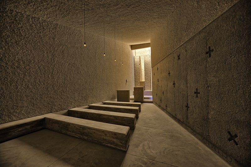 Saint John Baptist Chapel / Alejandro Beautell, © Efraín Pintos