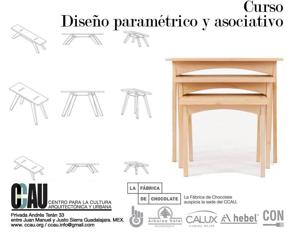 Curso Diseño Paramétrico y Asociativo / CCAU Guadalajara, Cortesía CCAU