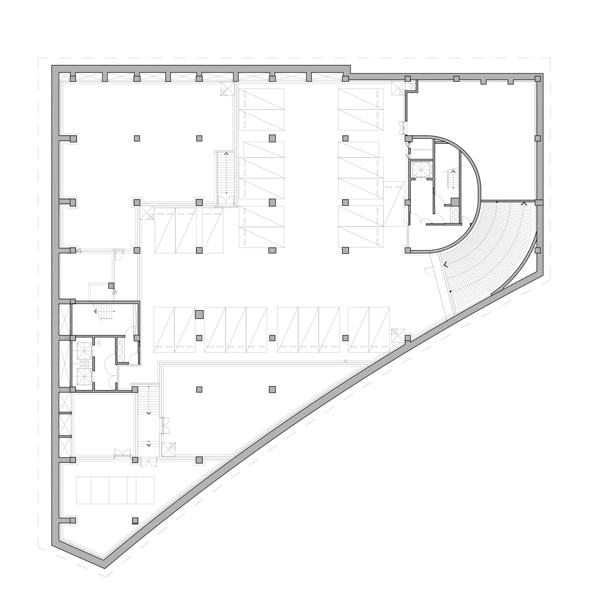 gallery of the sarang community church seoinn design group 38 b4 floor plan