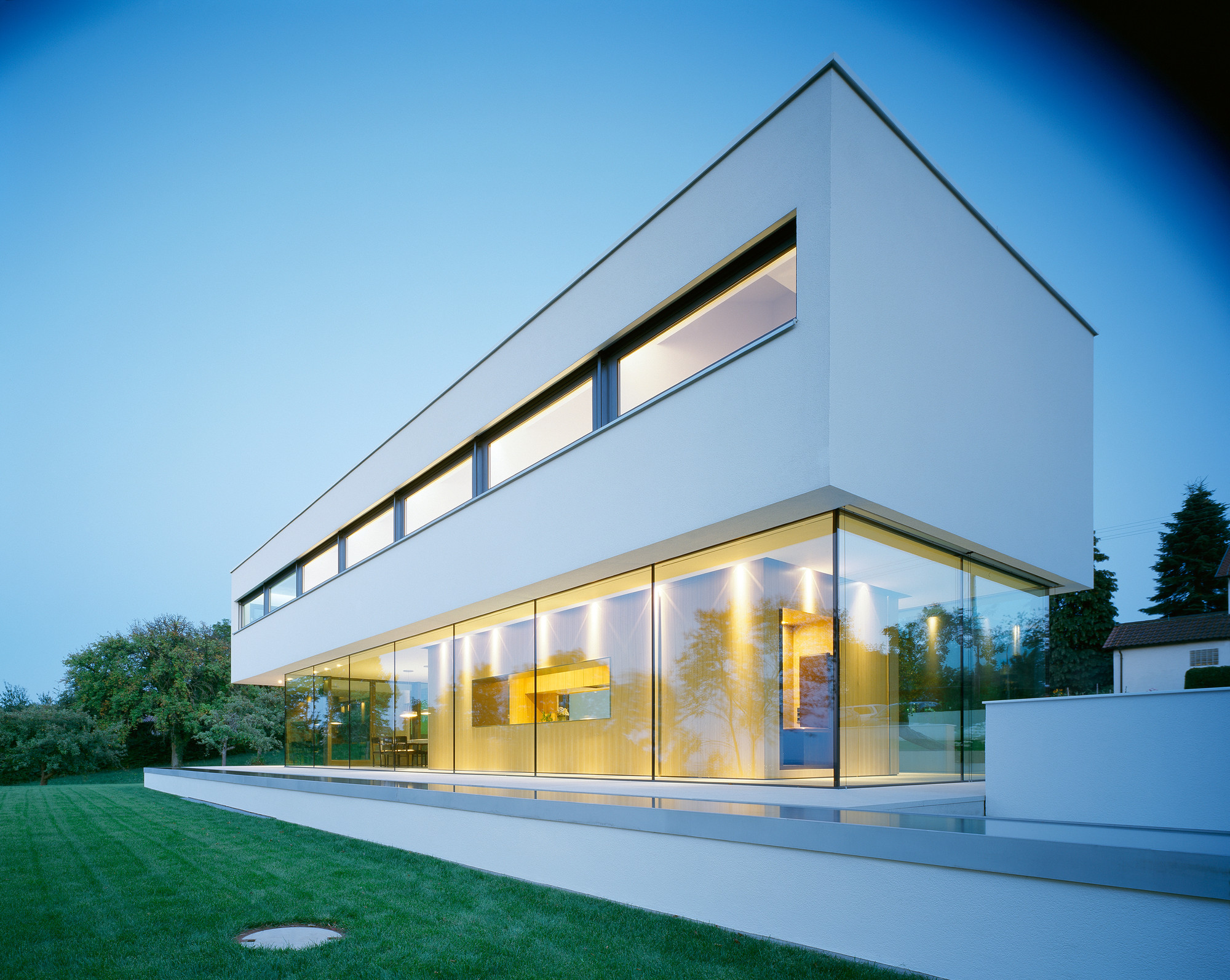 Gallery of house p philipp architekten 53 for Architecte maison container