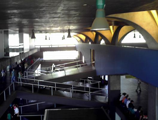 © Arquitetura Brutalista, FAU-Mackenzie