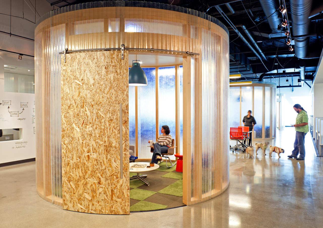 Oficinas AOL por Studio A + O . Imagen © Jasper Sanidad