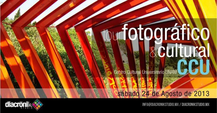 Diacronik Studio presenta Tour Fotográfico y Cultural: Centro Cultural Universitario UNAM