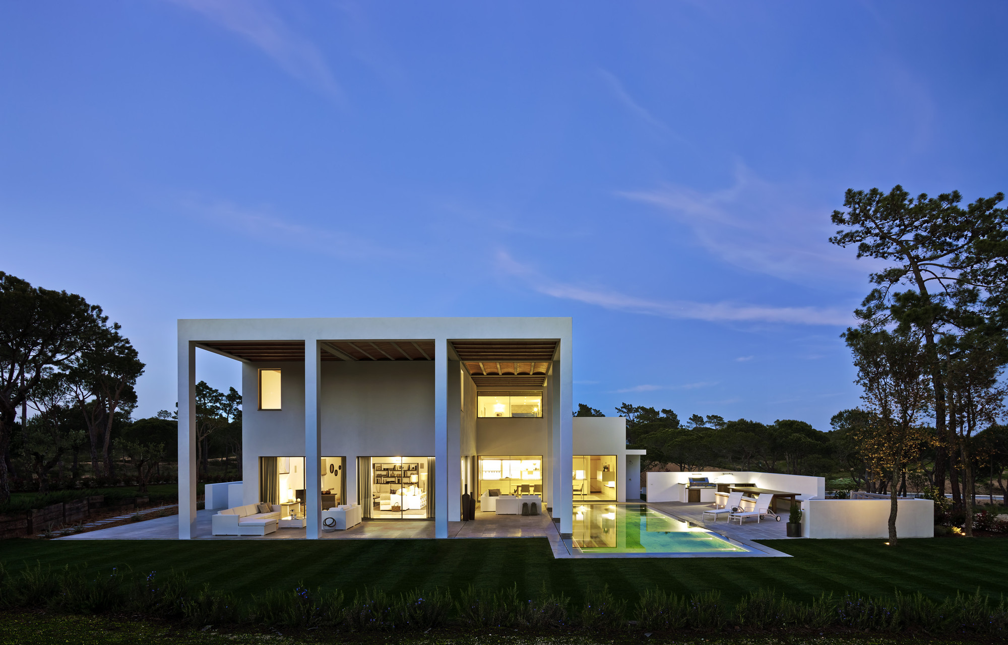 San Lorenzo House / de Blacam and Meagher Architects, Courtesy of Quinta do Lago