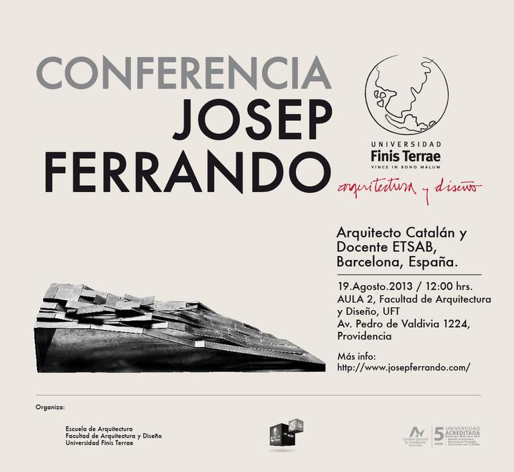 Conferencia Josep Ferrando, 19 de Agosto / Chile, Cortesía de UFT