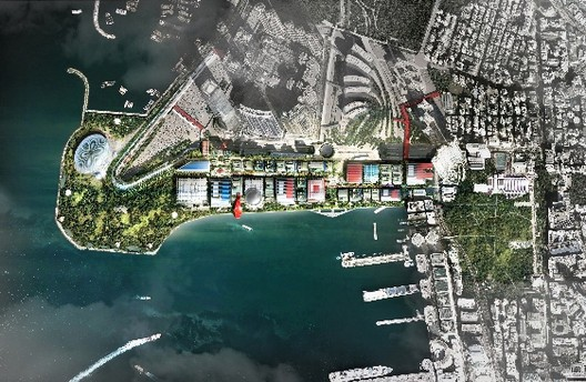 WKCDA Abandons West Kowloon Park Competition in Hong Kong, Courtesy of Foster + Partners