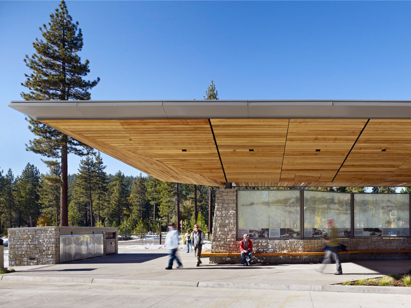 Tahoe city transit center wrns studio archdaily for Tahoe architects