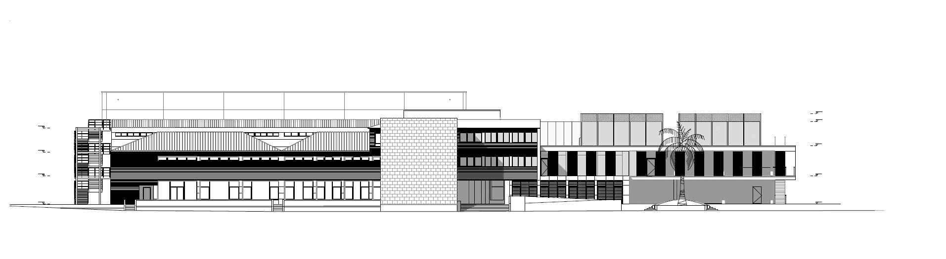 galer a de edificio de servicios generales en centro de nataci n helios acxt 29. Black Bedroom Furniture Sets. Home Design Ideas