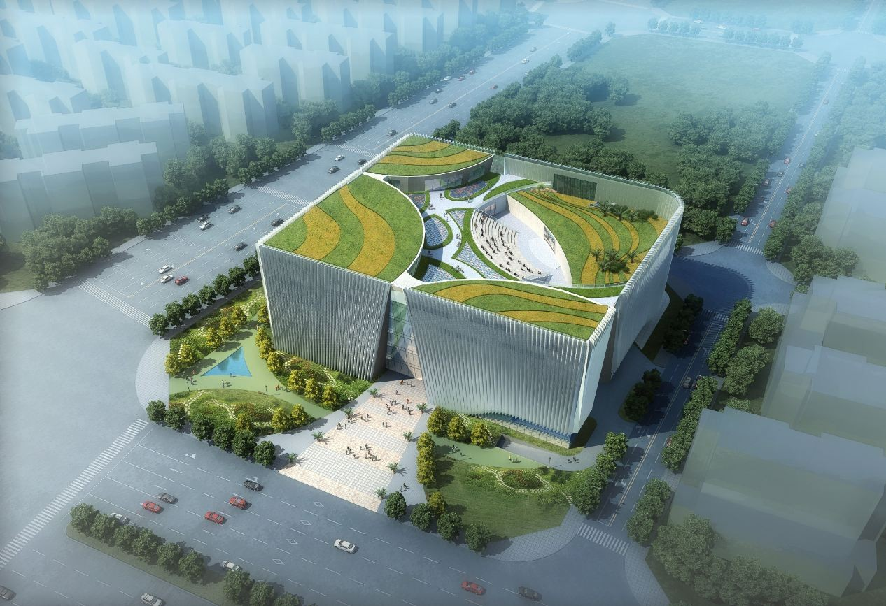 Southwest International Ethnic Culture and Art Center Winning Proposal / Tongji Architectural Design and Research Institute, Courtesy of Tongji Architectural Design and Research Institute