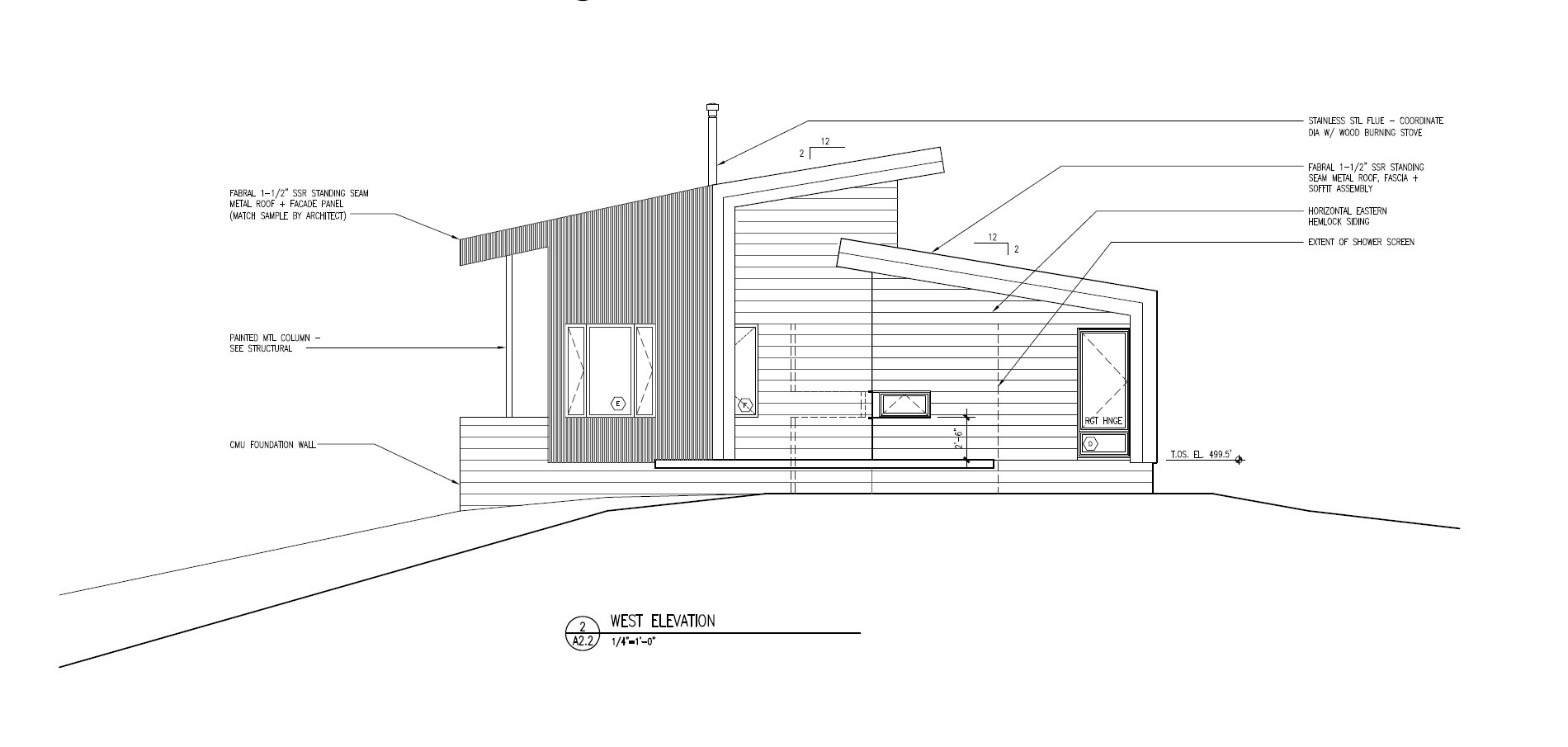 Gallery Of Ridge House Grid Architects 19