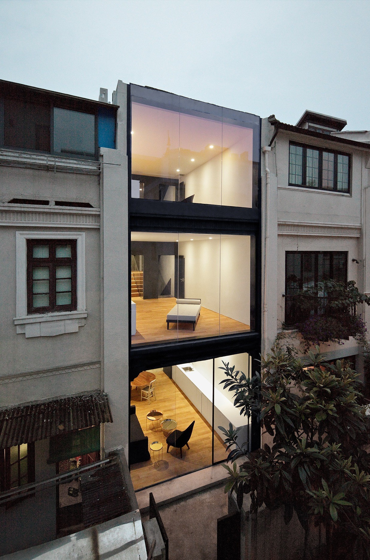 Gallery of rethinking the split house neri hu design R house architecture research office