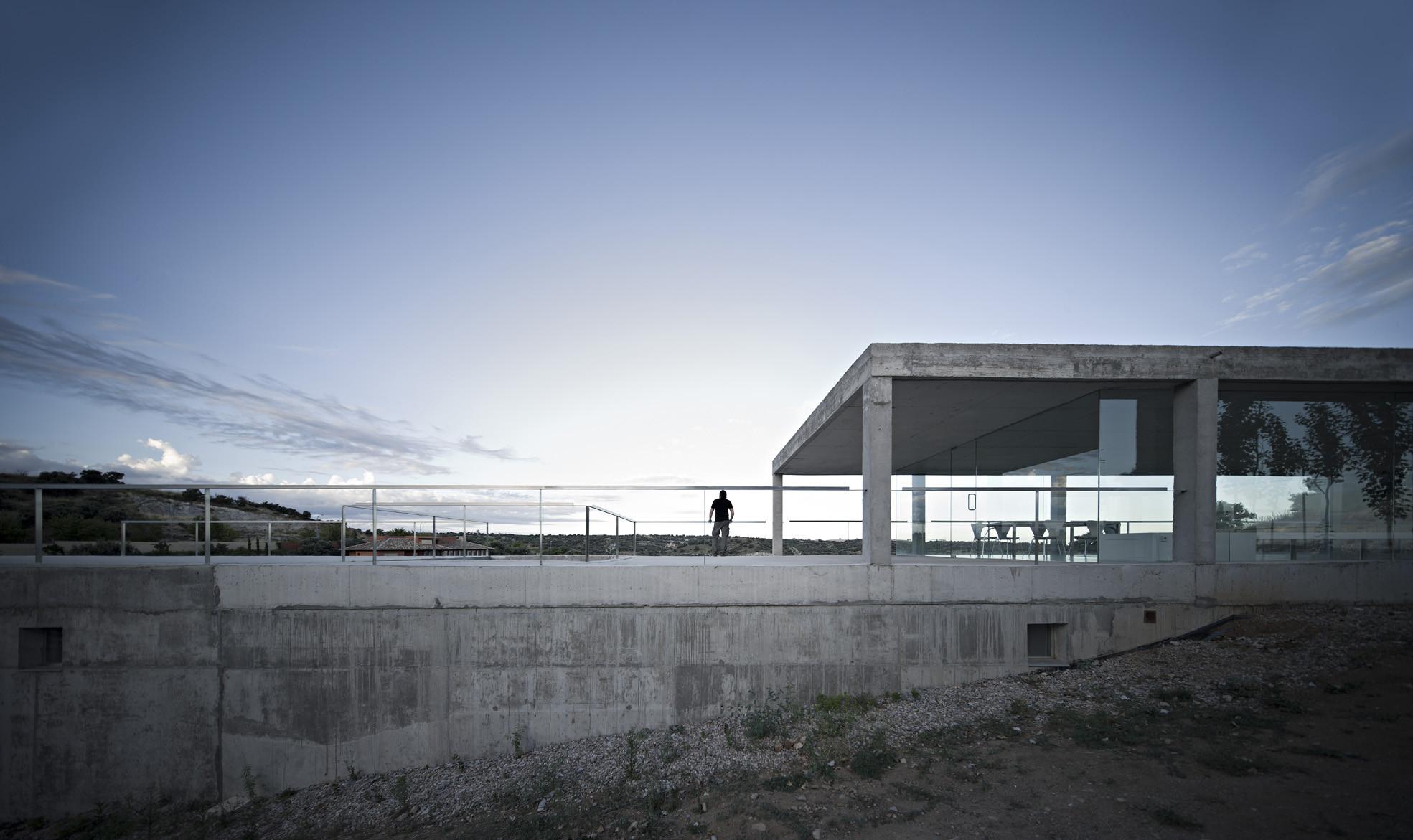 Gallery of rufo house alberto campo baeza 12 - Estudio arquitectura toledo ...