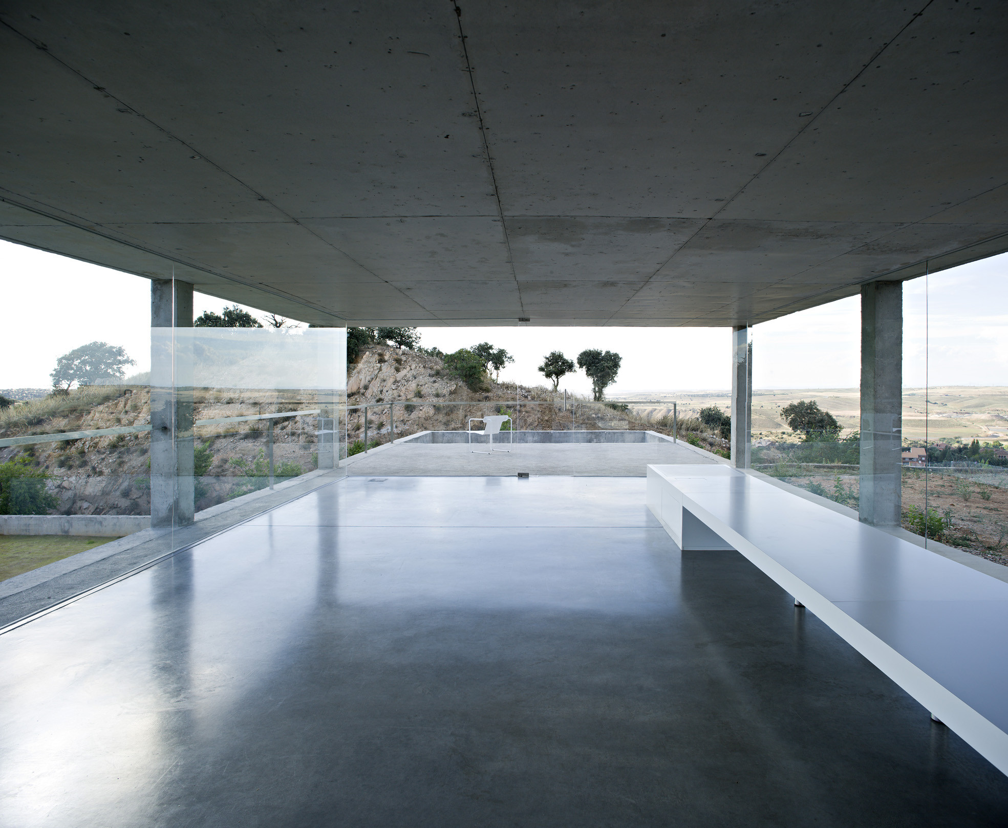 Gallery of rufo house alberto campo baeza 2 for Casa de campo arquitectura