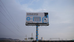Billboard in Lima Harvests Drinking Water Out of Thin Air