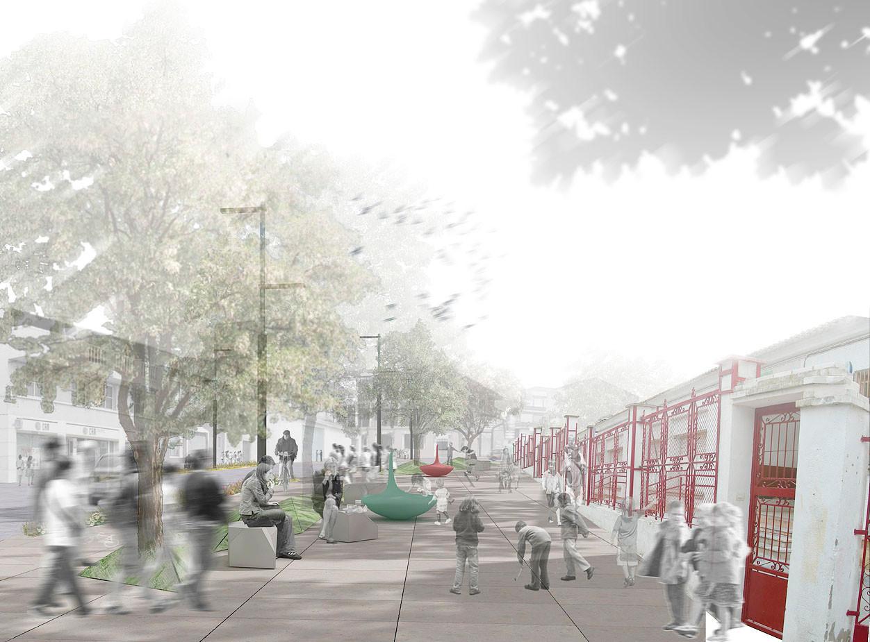 espacios seguros plan estratgico de intervencin en la travesa urbana de pliego murcia