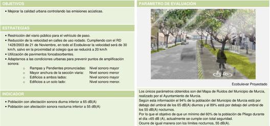 Prancha 2: Plano Estratégico de Pliego. Murcia. E. Mínguez, 2009. Imagem Cortesia de Enrique Mínguez Martínez, Pablo Martí Ciriquián, María Vera Moure