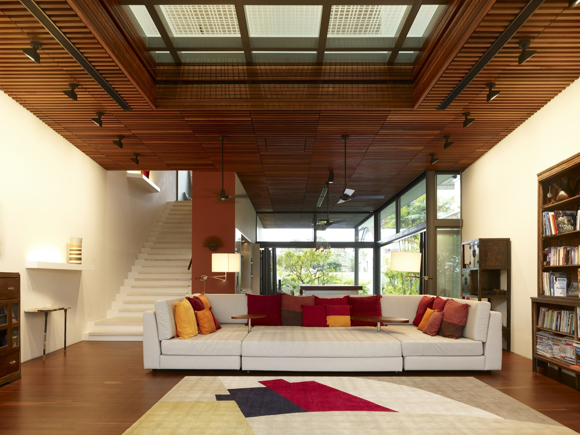 Wooden Ceiling Designs For Living Room Gallery Of Acoustic Alchemy Hyla Architects 3