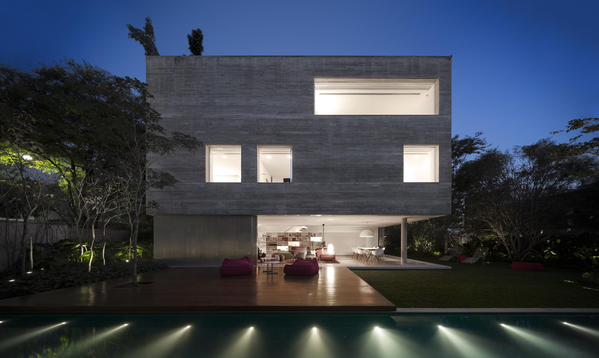 Cube House / Studio MK27 - Marcio Kogan + Suzana Glogowski, © FG+SG - Fernando Guerra