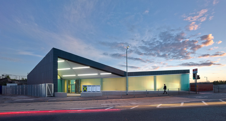 Estación Dalmarnock / ATKINS, © Andrew Lee