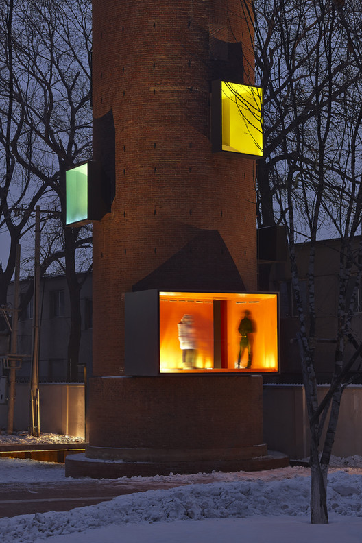 Public Folly - Water Tower Renovation / META - Project, © Chen Su