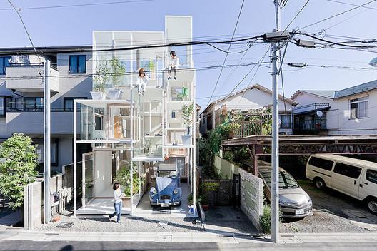 House NA by Sou Fujimoto Architects © Iwan Baan