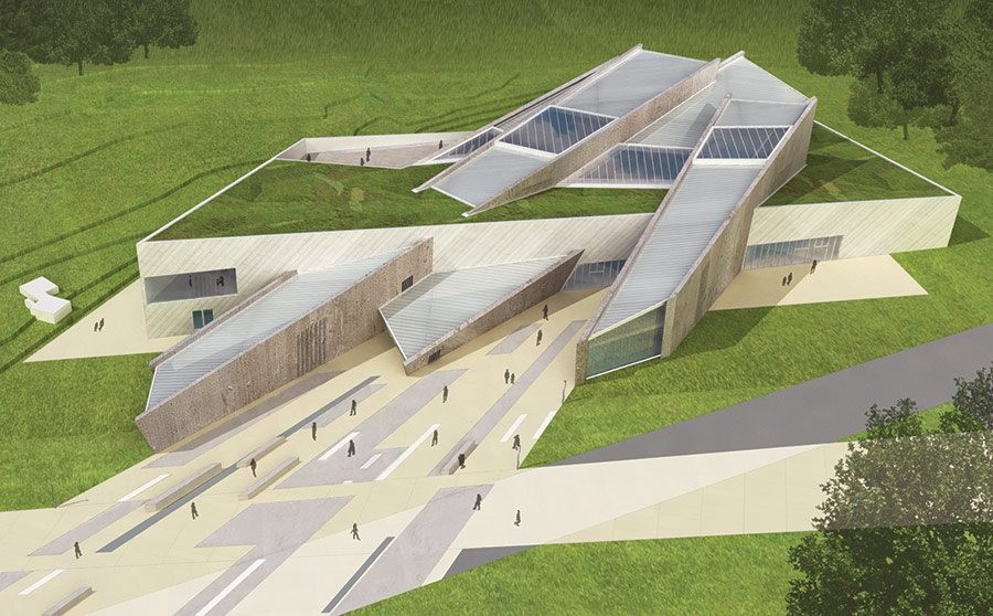 Future Uncertain for Daniel Libeskind's Maze Peace Centre, Courtesy of Studio Daniel Libeskind