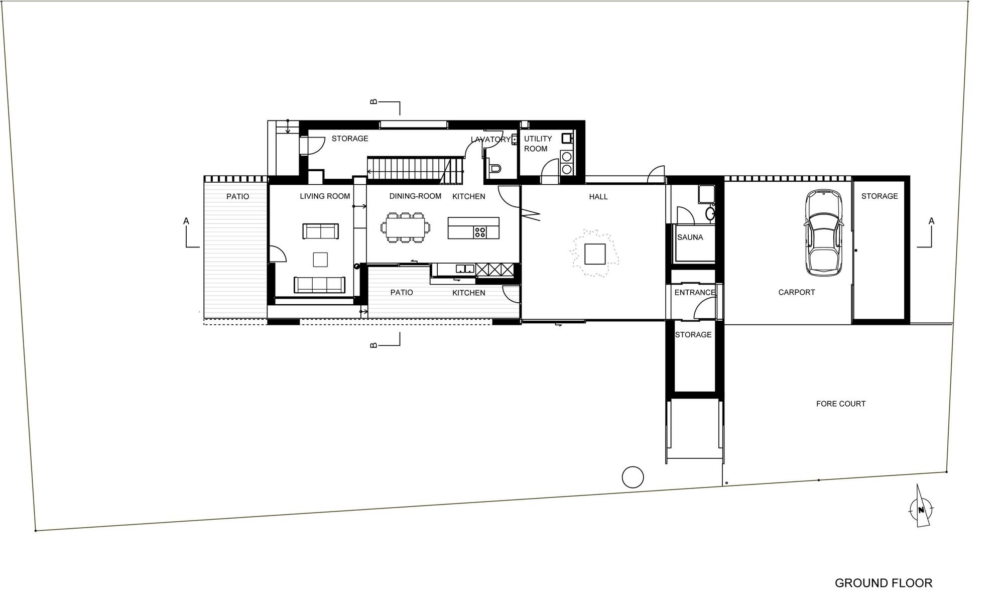 Gallery of Atriumhaus am Waldrand / Kleboth Lindinger ...